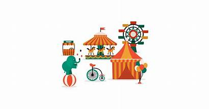 Illustrations Circus Vector Transparent Graphic Cave Clipart