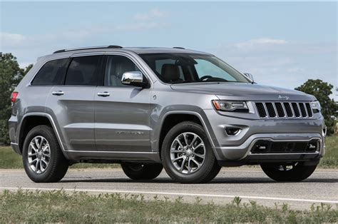 2016 Jeep Grand Cherokee Improves Mpg, Adds Engine Stop-start