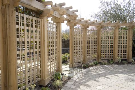 kitchen island spacing trellis fence panels landscape modern with aesthetic