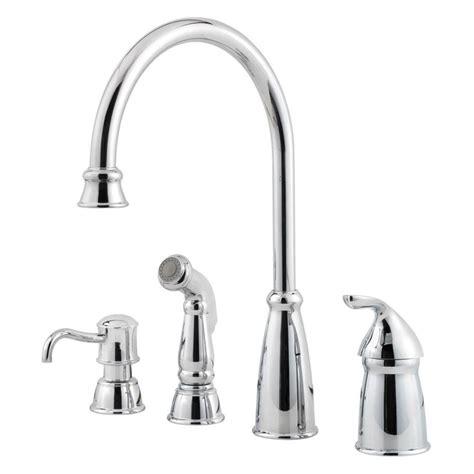 pfister kitchen faucets pfister avalon single handle high arc standard kitchen