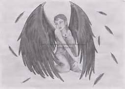 Dark Wings Angel by Mo...