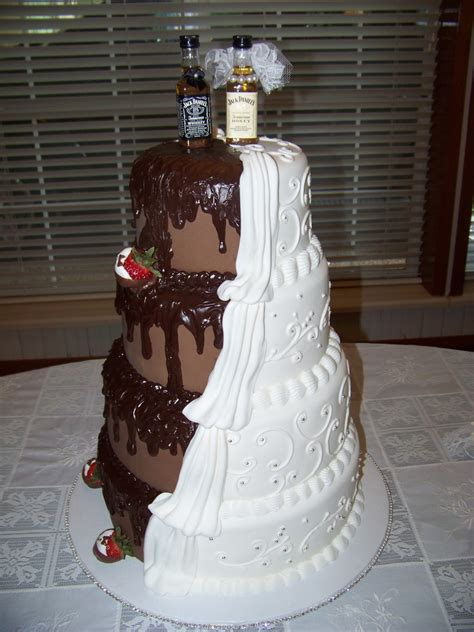 His And Wedding Cakes by His Hers Wedding Cake Cakecentral