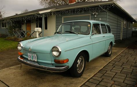 volkswagen old old parked cars 1972 volkswagen type 3 wagon