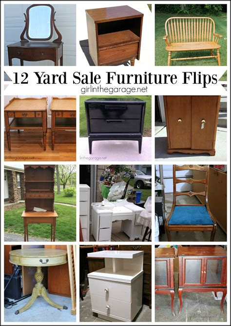 Yard Furniture Sale by 12 Yard Sale Furniture Makeovers In The Garage 174
