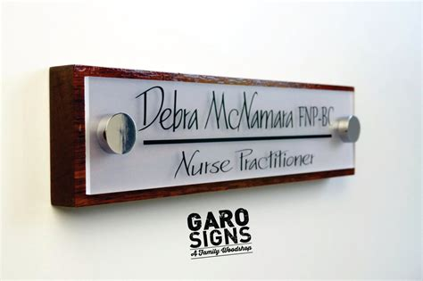 office door sign professional personalized wood sign gift