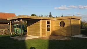 construction abri de jardin moderne sur mesure prix plan With abri de jardin contemporain