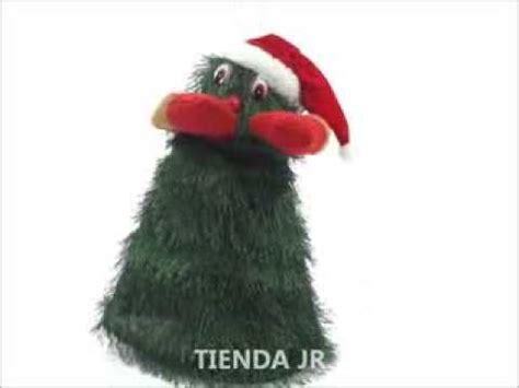 arbol de navidad que canta y baila juguete o decoracion