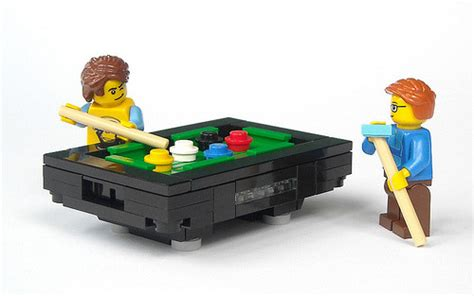 mini lego table lego express legozz billiard table by mijasper