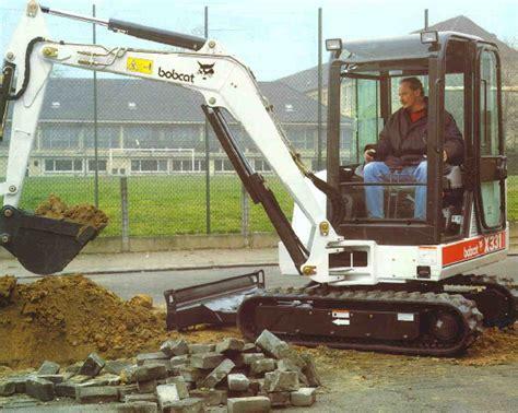 bobcat mini excavators find    technical specifications  operators manuals