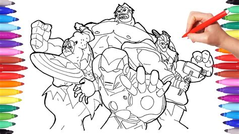 superheroes coloring pages  kids   draw
