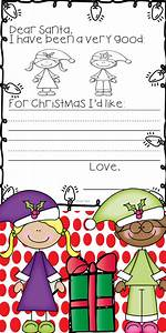473 best free christmas printables educational images on With pre written christmas letters