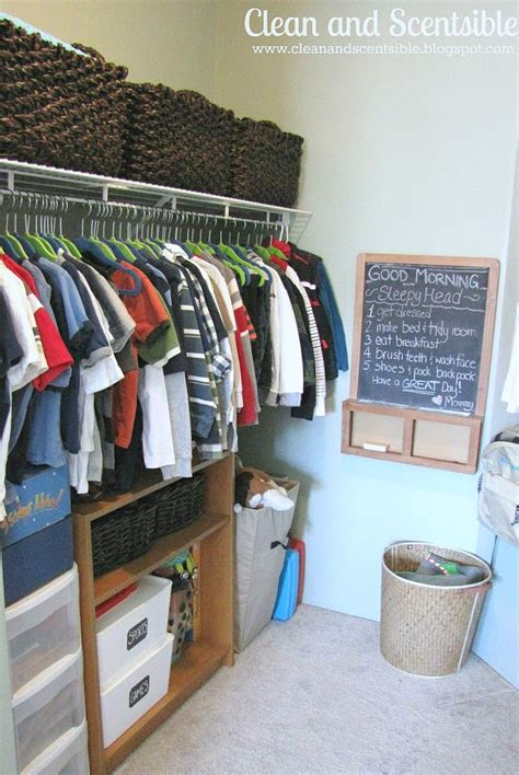 Kid Closet Organizers by How To Organize Closets Clean And Scentsible