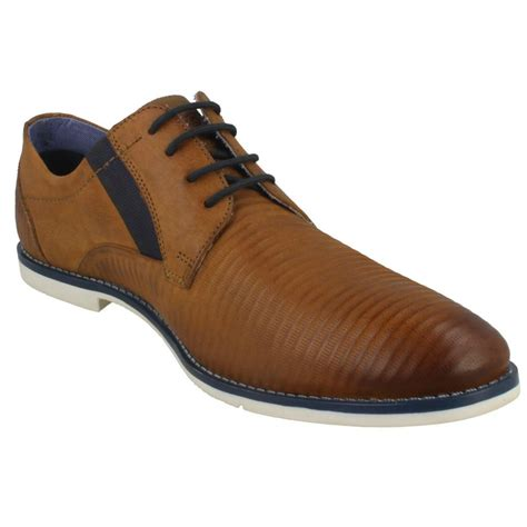 Browse our fantastic range of men's bugatti shoes at charles clinkard today. Mens Bugatti Stylish Lace Up Shoes '313-11117-3500' | eBay