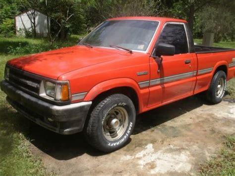 manual repair free 1992 mazda b series security system find used 1987 mazda b2200 se 5 standard cab pickup 2 door 2 2l in seville florida united states
