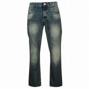 Lee Cooper Mens Gents Bootcut Jeans Elegant Pants Trousers ...