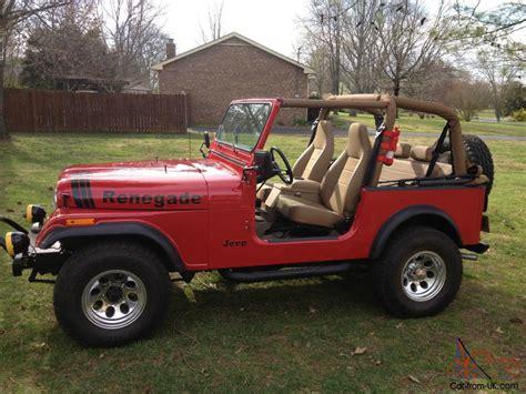amc jeep cj7 1977 jeep cj7 amc 304 v8 full restoration 35k invested