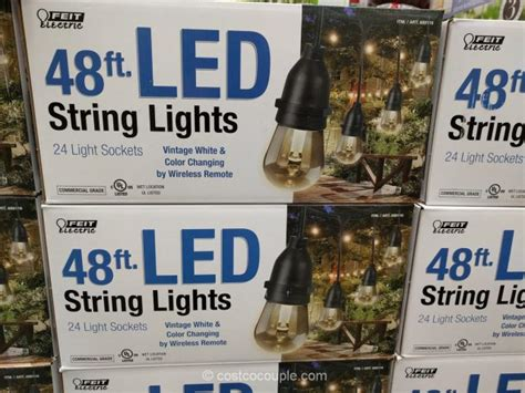 Costco String Lights by Led String Lights Outdoor Costco Outdoor Lighting Ideas