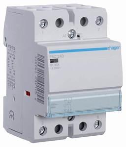 Hager Esc240 Contactor 2no 40a 230v