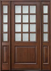Residential Entry Doors with Side Lights