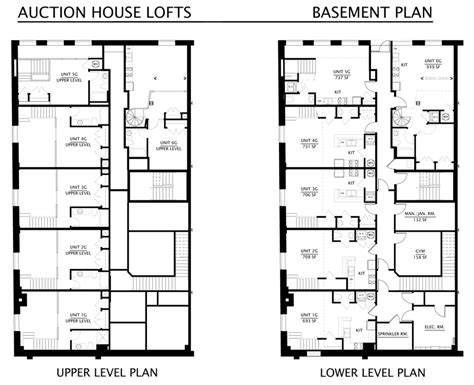 basement home floor plans floorplans the auction house