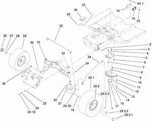 How Do I Fix The Steering Bush On A Toro Wheel Horse