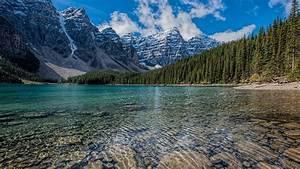 Download, 1920x1080, Wallpaper, Clean, Lake, Mountains, Range
