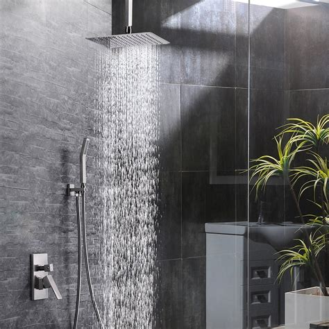 bath shower sets sr sun rise   ceiling mount