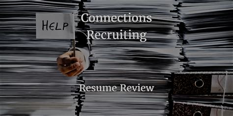 Resume Review by Resume Review Connections