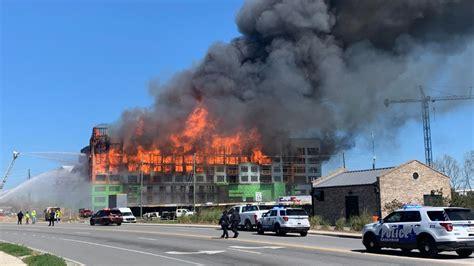 fire breaks   hotel construction site  savannah