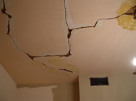 Ceiling Cracks Offer Important Clues About Your Foundation
