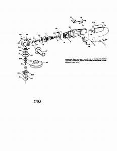 Looking For Porter Cable Model 7645 Angle Grinder Repair