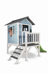 Spielhaus Für Den Garten : kinder spielhaus beachstyle lodge xl blau stelzenhaus ~ Articles-book.com Haus und Dekorationen