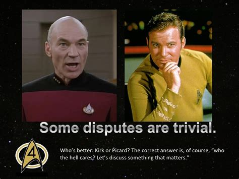 who s betten who s better kirk or picard