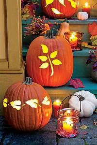 20, Easy, Diy, Carved, Pumpkins, For, Your, Halloween, Decor