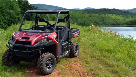 polaris ranger xp  eps review video atvcom