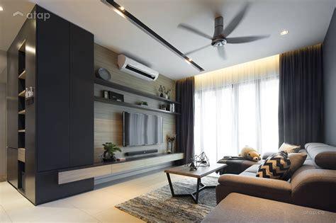 Contemporary Modern Living Room Condominium Design Ideas