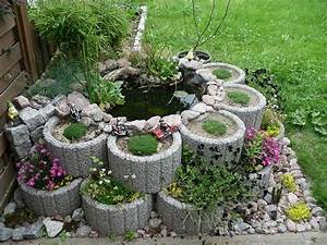 Miniteich Pflanzen Set : mini gartenteich anlegen einen mini gartenteich anlegen ratgeber garten einen kleinen ~ Buech-reservation.com Haus und Dekorationen