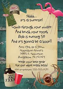 Invitation Wording Party White Trash Bash Party Tailgate Cook Out