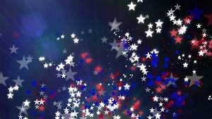 Red White And Blue Stars Background Stock Footage Video ...