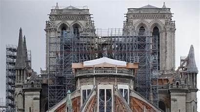 Notre Dame Feuer Jahren Seit Nach Das