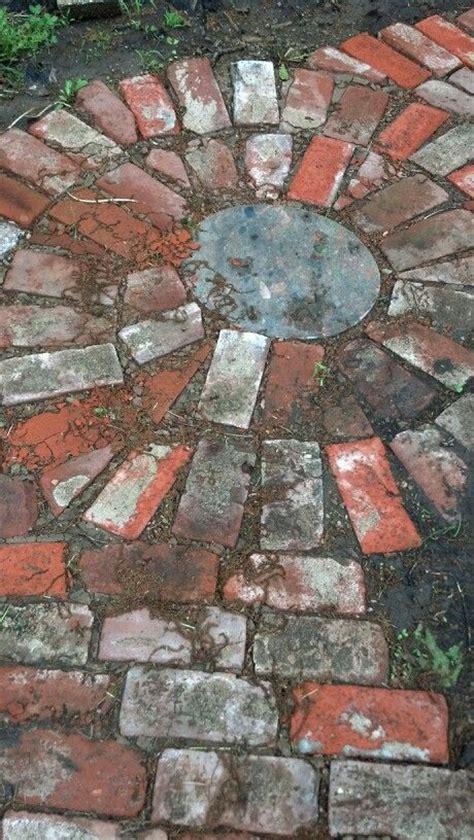 bricks recycled cool  stuff brick pathway