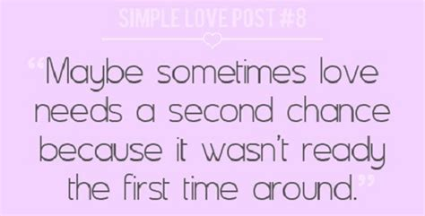 Famous Love Quotes Second Chances