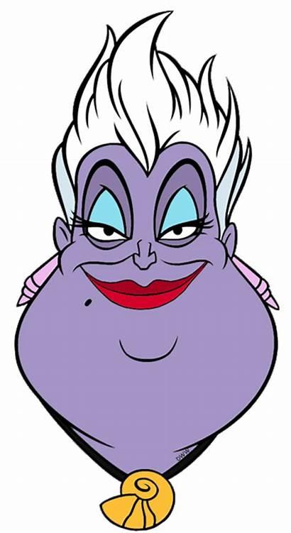 Ursula Disney Clipart Clip Jetsam Flotsam Drawings