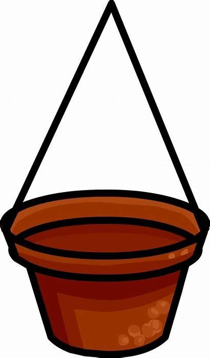 Hanging Flower Clipart Basket Baskets Powered Transparent
