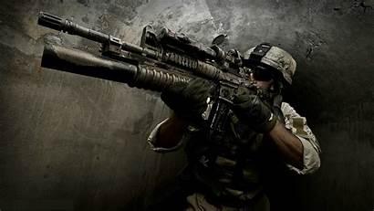 Gun Wallpapers Rifle Assault Desktop Wallpapersafari Code