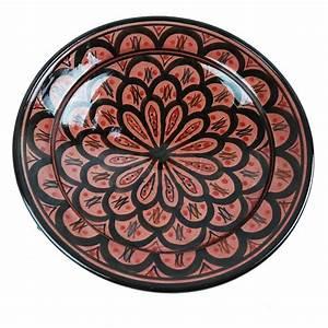 Nachttisch Zum Hängen : orientalischer keramik teller bemalt marokkanischer ~ Pilothousefishingboats.com Haus und Dekorationen
