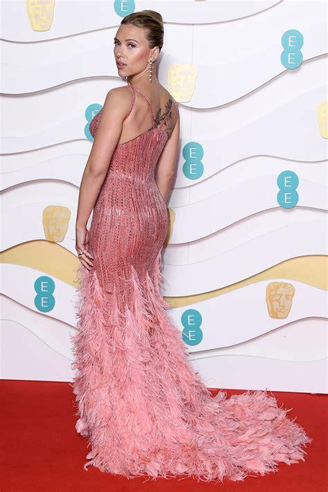 Scarlett Johansson's Pink Versace Dress on the BAFTAs 2020 ...