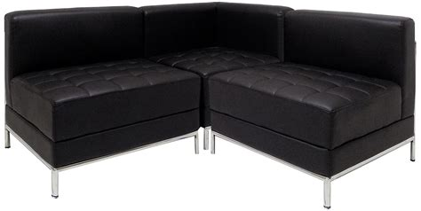 modular l shaped sofa black tufted modular l shaped sofa