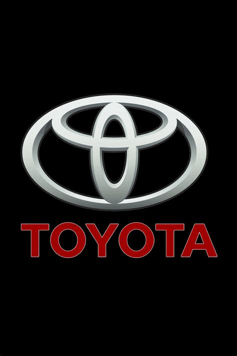 Toyota Logo Wallpaper Iphone toyota logo iphone wallpaper hd