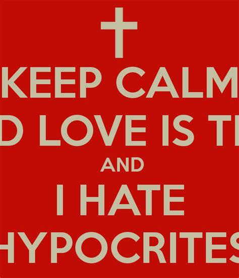 quotes on hypocrites love